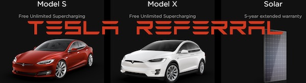 Tesla referral