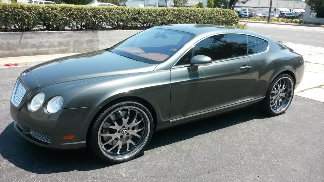 2004 Bentley Continental GT V12 twin turbo AWD on 22x10 3piece chrome wheels