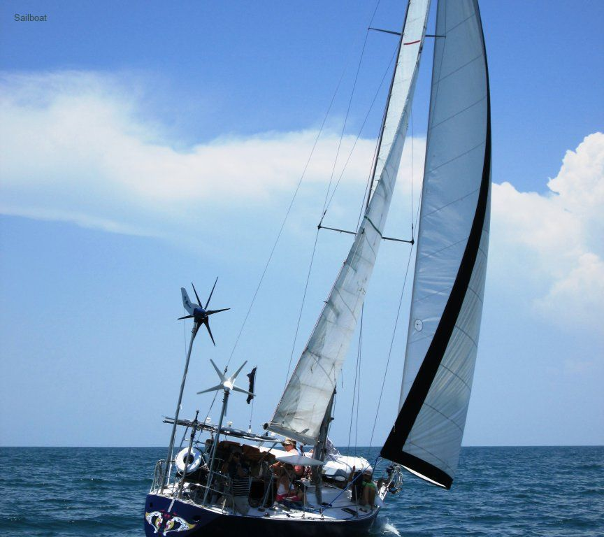 Trade 37 ft sloop for property