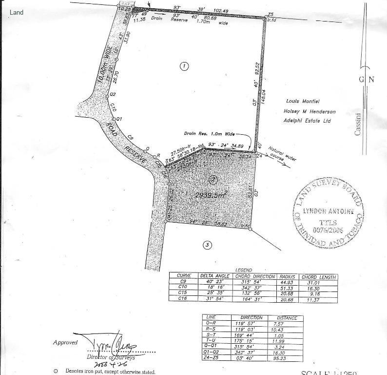6 LOTS OF LAND IN MASON HALL TOBAGO…USD..$350K