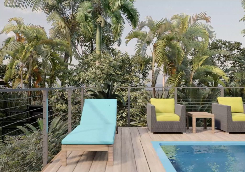 Deck Sofa and Chairs