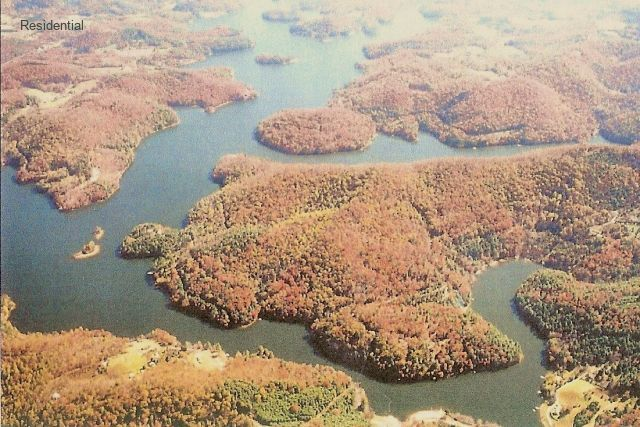 Cashiers Highlands Gated Lake View Home Site Over Lake Glenville