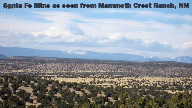 Mammoth Crest Ranch - 140+ Acres in NM Santa Fe Mountains